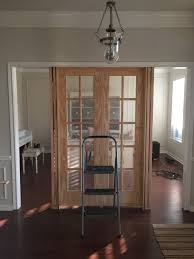 office french doors. The Need For An Office Was Much More In Demand. I Wanted To Have Option Close Off Room If Needed, Which These Doors And Side Panels Provide. French T