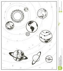Sistema Solare Da Colorare E Stampare