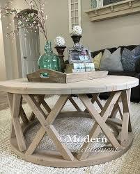 25 diverse diy farmhouse coffee table ideas for cozy homes Farmhouse Coffee Table Decor Ideas Savillefurniture
