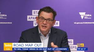 New lockdowns of some sort are going to be necessary. 9 News Melbourne Road Map Out Facebook