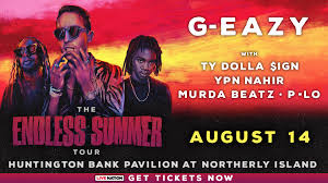 g eazy s endless summer tour with ty dolla ign ybn nahir murda beatz hits chicago on august 14th
