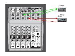 connecting a mixer to your ham radio(s) the nerdcave Audio Mixer Circuit Diagram Powered Mixer Wiring Diagrams #25