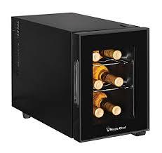 magic chef 6 bottle wine cooler