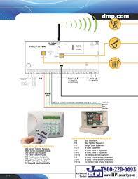dmp xt series security alarm control hpi security alarms and dmp 305 relay at Dmp Fire Alarm Wiring Diagrams