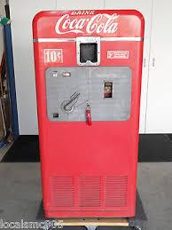 Coca Cola Vending Machine Models Unique VINTAGE COCA COLA Vending Machine Vendorlator Model VMC 48A
