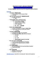 Articulatory Phonetics Chart Study Guide For Esol Praxis Ii 0361 Test Articulatory Phonetics