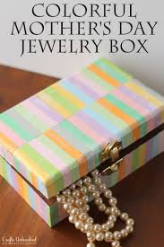 diy jewelry box perfect for mother day crafts unleashed colorful mothers supplies needed make your own light explosion ideas tent small how frame exploding