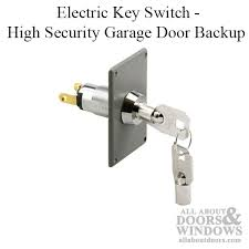 electric key switch high security garage door electric key switch