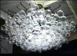 glass orb lighting glass orb chandelier blown glass bubble orb chandelier glass orb chandelier glass