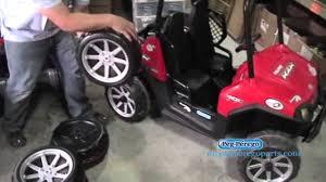 where to get wheels for peg perego 24 volt polaris ranger rzr