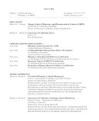 Resume For Pharmacy Technician Sample Pharmacy Resume Pharmacist Inspiration Objective On Resume For Pharmacy Technician