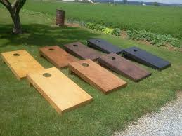 Wooden Corn Hole Game Home 26