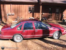 All Chevy 96 chevrolet caprice : 1996 Chevrolet Caprice B4U (civilian with Sport package) id 16649