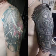 доспехи каверап тату на плече у парня добавлено администратор