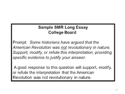 writing the leq ppt  sample smr long essay college board