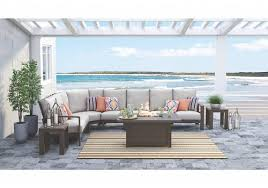 modern balcony furniture. Modern Backyard Raleigh Sectional Set Balcony Furniture