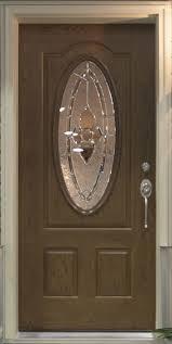 oval wood fibergl front door commodore of indiana