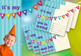 free printable invitation cards for birthday party for kids kids birthday party printable invite thank you sew4home