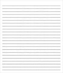 College Ruled Paper Template 6 Free Pdf Documents Download Free