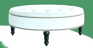 modern leather ottoman coffee table oval leather ottoman oval ottoman coffee table oval leather ottoman leather