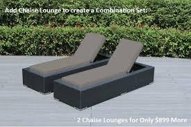 Beautiful Ohana Outdoor Patio Wicker Furniture Deep Seating 10 pc