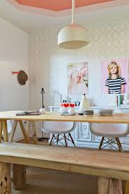 home office style ideas. Posh Home Office With A Feminine Vibe And Scandinavian Style Ideas