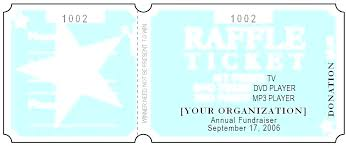Free Template To Make Raffle Tickets Online Website