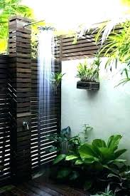 outdoor pool shower ideas best showers swimming toilets for pools on