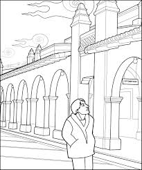 Small Picture Crazy Optical Illusion Coloring Page Fun for the Kiddos