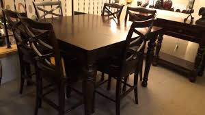 Ashley Furniture Kitchen Table And Chairs Counter Height Table And Chair Sets American Attitude Upholstered