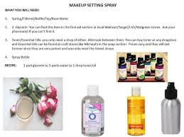 makeup ideas makeup setting spray diy diy makeup setting spray cosmetic junkie