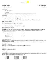 Babysitting Resume Templates Enchanting Babysitting Resume Template Download Our Sample Of Example