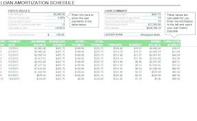 Loan Schedule Excel Template Mortgage Excel Template Excel Mortgage Calculator With Extra