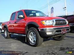 2004 Toyota Tacoma V6 PreRunner TRD Double Cab in Radiant Red ...