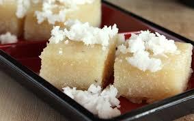 Ongol Ongol Singkong Indonesian Steamed Cassava Cake Vegan Gluten