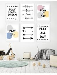 gorgeous free wall art printables for kids