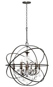 chandeliers chandelier cut out stencil for the crystorama lighting group english bronze solaris 6 light
