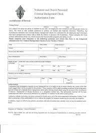 Background Check Authorization Form Template Consent For Release Of Information Template 21