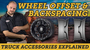 Backspacing And Offset Chart Understanding Wheel Offset Backspacing And Width Easy Guide Truck Accessories Explained