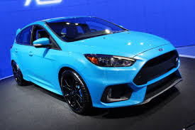 2016 Ford Focus RS at the New York Auto Show