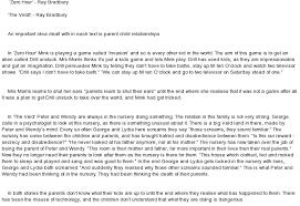 ray bradbury themes essay ray bradbury long fiction analysis essay enotes com