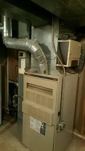 lennox high efficiency furnace. 20 year old gas guzzler making way for a high efficiency furnace provided by lennox through t