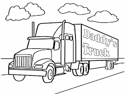 Four wheeler coloring page free download