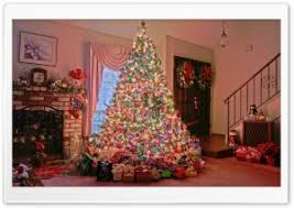 Christmas Tree HD Wide Wallpaper for 4K UHD Widescreen desktop & smartphone