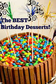 The Best Birthday Desserts