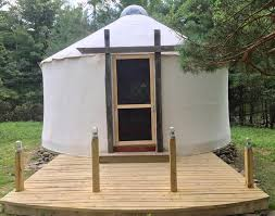 they have been building personal yurts since around 2016 and are now building yurt kits for delivery