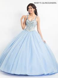 Light Blue Quince Dress Lareina Quinceanera Dresses Style Mq2020 In Light Blue