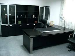 combined office interiors. Plain Combined Exotic Office Furniture Combined Interiors Desk Awesome Interior  Design Large Size Black Cabinet On The Grey Wood In O