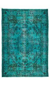 over dyed turkish rug
