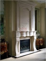 Fireplaces Limestone Mantels  Old House WebLimestone Fireplace Mantels